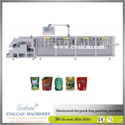 Macchina imballatrice di riempimento di Hffs di caffè dei chicchi del granello della chiusura lampo di Doypack del sacchetto di forma/riempimento/saldatura automatico del sacchetto