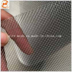 Rete metallica di alluminio rivestita argento/dell'acciaio inossidabile