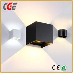 8W 12W candeeiro de parede LED com certificado CE de parede LED lâmpadas de luz LED de exterior
