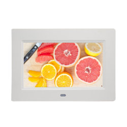 Cadeaux promotionnels panneau LCD Cadre photo numérique avec USB/SD/MMC