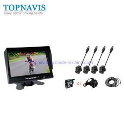 7インチのトラック/トレーラー/ミキサートラック/バスのための超音波デジタルビデオ逆/バックアップ/裏付けの駐車センサー