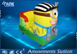 Funciona con monedas cabalgata infantil Cartoon Coche Minions Swing Car