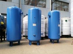 Réservoir d'air/ récepteur de l'air 8 bar ~13bars 0.3m³ ~5m³ / 300L ~5000L avec certificat pour compresseur industriel