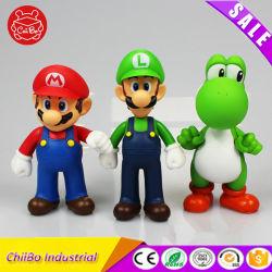 La figura de dibujos animados Cute OEM juguetes de plástico de alta calidad