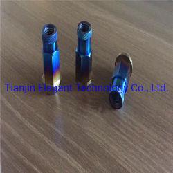 DIN912 Tapered hexagonal M4 cabeza cónica Cap Gr5 TC4 Ti-6Al-4V Tornillo Tornillo de fijación de titanio para bicicleta/titanio nut/ el tornillo de titanio