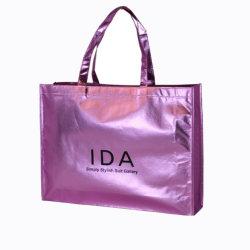 再生利用できる金属ラミネーション袋のEcoの友好的な卸売非編まれた袋
