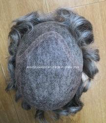 personalizado mais natural de cabelo humano o cabelo masculino substituição