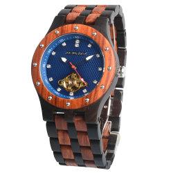 Neue Armbanduhr Aus Feinem Zeitmesser Für Den Einzug Automatische Armbanduhr Aus Mechanischem Holz