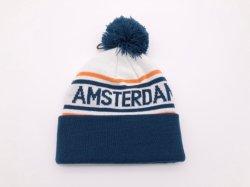 Commerce de gros bouchon Sport hiver coiffures en bonneterie Beanie Hat,