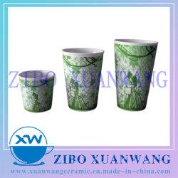 Taille V-Forme Multi Mug en céramique avec couple amoureux de la cuvette de céramique de conception sans poignée