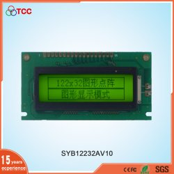 Industrieel aangepast LCD 122X32 Stn/Transflective Display Mode Sbn1661g Controller Panel 18pins 12232 LCD Module