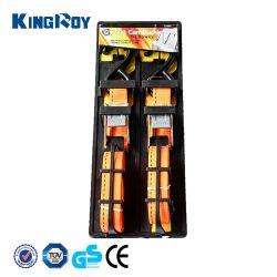 Kingroy 25mm 1pulgada Cam hebilla correa de amarre con juego gancho S