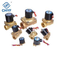 2W Series normalmente abierto/cerrado tipo 2W025-06, 2W025-08, 2W040-10, 2W160-10, 2W160-15 estilo de acción directa de la válvula de solenoide