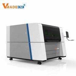1390 Machine de découpe laser à haute vitesse pour le métal fibre d'acier 1000W