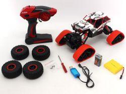 2.4G R/C 4WD Escalade de rocher en plastique de voiture avec la ligne USB