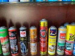 Los insecticidas en aerosol pueden lata de metal