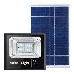 Exterior de la clase alta protección IP65 Resistente al agua 25W Farol Solar Iluminación lámpara de LED PAR El Sistema de alimentación de las luces de los productos Home linterna de jardín de la pared submarina