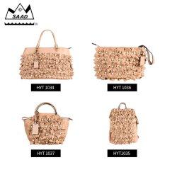 Saad Flor exclusiva de moda bolso clásico de los espárragos Pearl