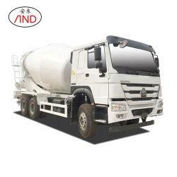 Customizable 사용된 트럭 HOWO 군 질 구체 믹서