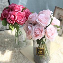 제조자 공급 PE 폼 인공 장미 꽃 결혼식