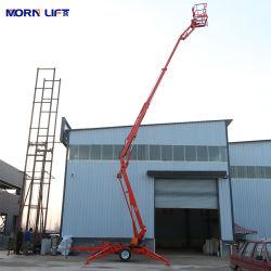 Китай 16м 10м 12м 14m для мобильных ПК гидравлической системы подъема телескопической стрелой масса буксируемого оборудования для продажи