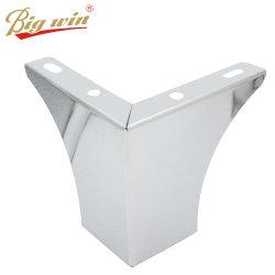 Mobilier en chrome noir de haute qualité pieds de table