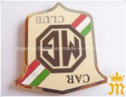 Distintivo su ordinazione di buona qualità del distintivo dell'automobile dello smalto del distintivo del distintivo duro di doratura elettrolitica