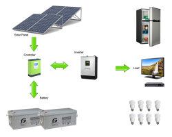 800 Вт электроэнергии создание весь дом солнечной системы питания панели управления для домашних пользователей