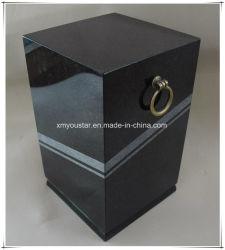 Shanxi de granito negro absoluto Cemation urnas funerarias Diseño para la Funeraria