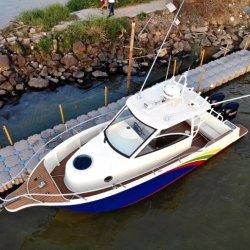 8.8m beständige Rumpf-lange Aluminiumausdauer-Fischerboot für Verkauf