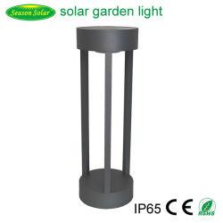 Новый аккумулятор светодиодный индикатор на открытом воздухе Smart солнечного света в саду с теплой + белый светодиодный индикатор