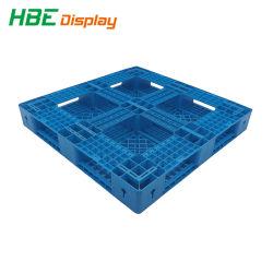 PE-Material, 4-polige eingesichtige Kunststoffpaletten mit Einführungstyp