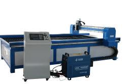 Primera mesa de trabajo 1300x2500mm plasma CNC de metal con un bajo coste utiliza máquinas de corte de plasma CNC
