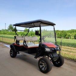 Elevadores eléctricos de off road Sport carrinho de golfe 4 LUGARES