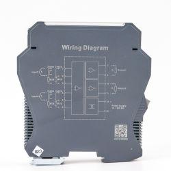 In de fabriek actieve verkoop 0-10 V 4-20 mA 1 Uitgangssignaal ingang 3 Isolator PT100 industriële temperatuurzender