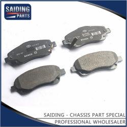 トヨタAvensisの自動車部品のための自動車ブレーキパッド04465-05280