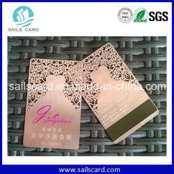 Gepersonaliseerd Design Luxe Metalen Visitekaartje Golden Vip-Kaart