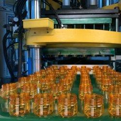 ماكينة زجاجات تلقائية، ماكينة تمولبة طرق الحقن ذات المرحلة الواحدة مع تجويف 2