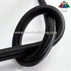 Exercise를 위한 10mm Black Elastic Bungee Rope