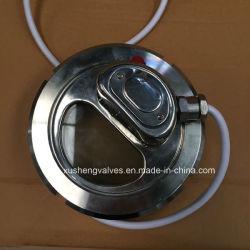SS304 из нержавеющей стали санитарных 24V световой индикатор смотрового стекла
