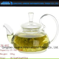 Grosser Kapazitäts-Glasflaschen-Tee-Potenziometer mit Hnadle