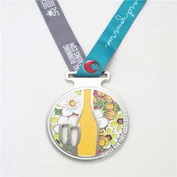 La promoción del carnaval de la medalla de Artesanía de metal personalizados para el Muay Thai Maratón de lucha Gimnasia Deporte insignia del medallón militar