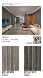 mattonelle di ceramica di legno Polished della porcellana di 200*800mm per la decorazione della casa del pavimento