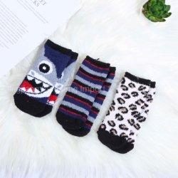 De leuke Sokken van de Baby Microfiber van het Beeldverhaal Zachte Verwarde