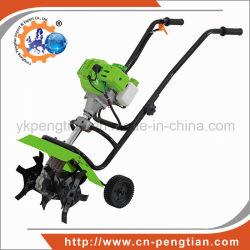 52cc Mini cultivateur de timon 2-moteur à essence de course pour les terres agricoles