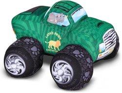 Artالإبداع الوحش شاحنة تصميم سفاري -- 8 بوصة شاحنة وحش كبيرة وحش -- تصميم بارد الحيوانية على شكل الحيوانات -- الطرية ودنيئة لعب للصبيان قليلا ، والفتيات ، والبعير