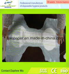 Disposble Adult Diaper pour Patient