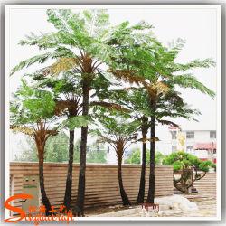 Крупных искусственных папоротника Palm Tree отличаются по форме Palm Tree