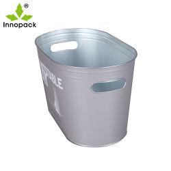 Высококачественные металлические Тин льда ковш для напитков упаковки