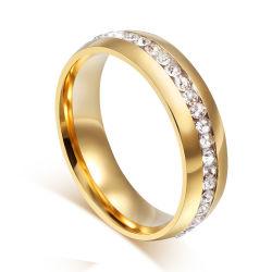 مورد مجوهرات تصميم الشعار الخاص لحلقة الزفاف للبيع الساخن Sc بالسعر